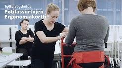 Potilassiirtojen Ergonomiakortti® lisää työ- ja potilasturvallisuutta hoitoalalla