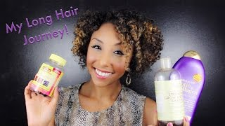 "My Long Hair Journey & 40K Giveaway! ""Loving Your Short Hair On The Road To Long Hair"""
