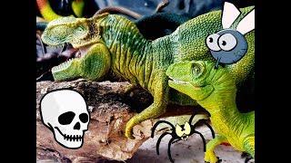 ПЕЩЕРА УЖАСОВ И ТИРАННОЗАВРДРАКОН-КОЛДУН! Мультики про динозавров