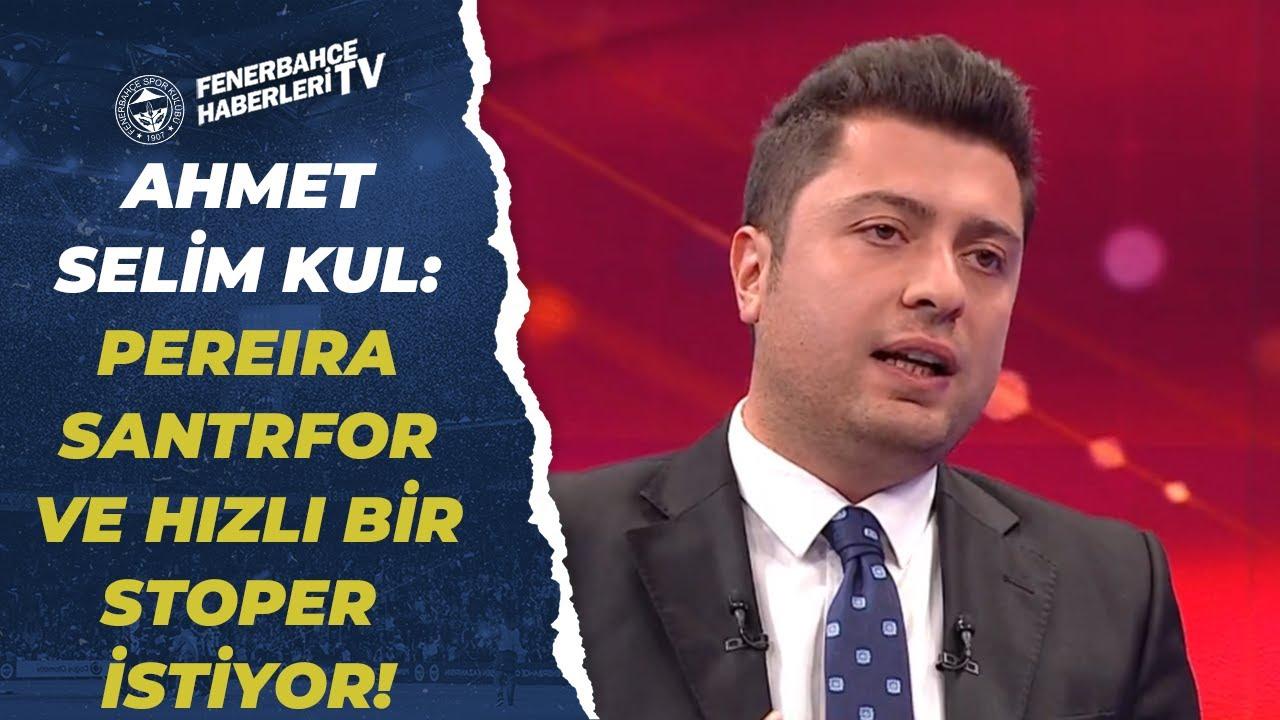 """Ahmet Selim Kul:""""Fenerbahçe Samatta İle Yolları Ayırmayı Düşünüyor"""" / Fenerbahçe Transfer Gündemi!"""