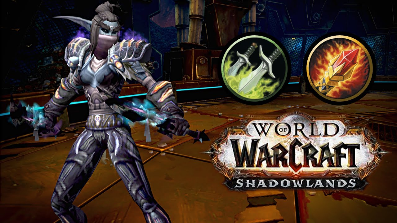 2.5cr ROGUE + MAGE (ft Blueyy) | Shadowlands Arena WoW