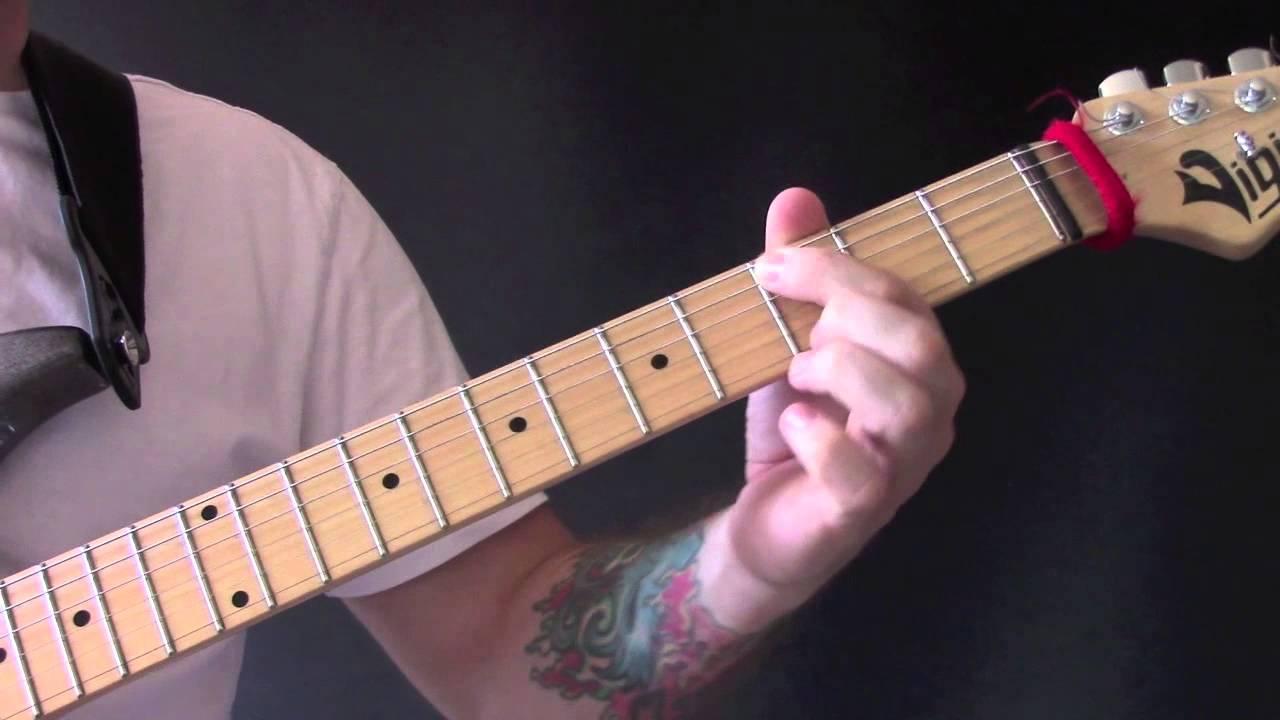 Crimson Clover Guitar Tutorial By Tommy James The Shondells