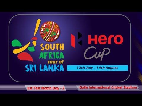 Sri Lanka vs South Africa 2018, 1st Test - Day 2