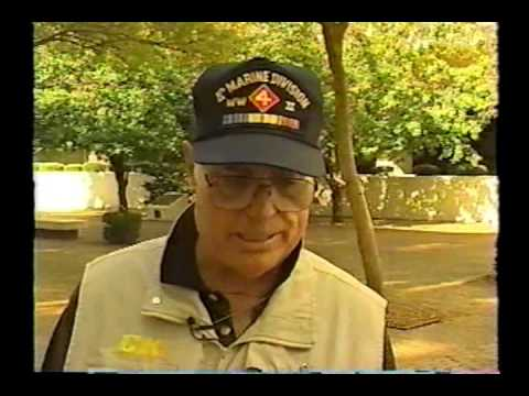 CNN interview of WWII Vet 4th Marine Division