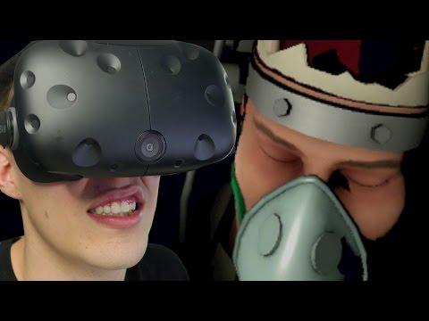 VR BRAIN SURGERY IN THE DARK - Surgeon Simulator: Experience Reality (HTC Vive)