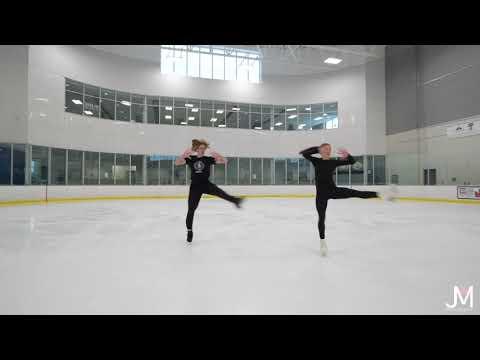 Maia Iannetta & Liam Carr, Junior Free Dance