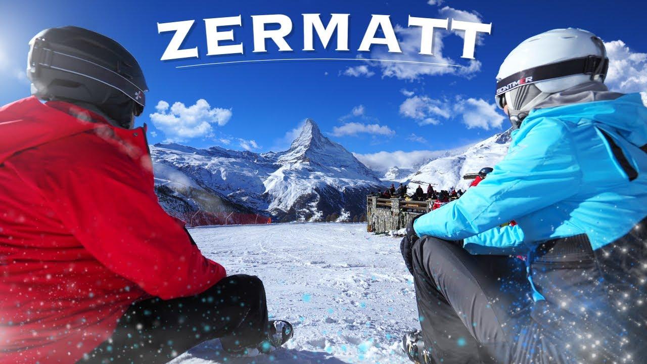 Горные лыжи в Церматт - Швейцария (Zermatt 2019)