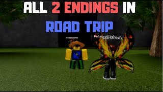 ROBLOX Road Trip {NEW STORY} - All 2 Endings