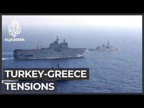 Turkey blasts 'arrogant' Macron amid Eastern Med crisis talks
