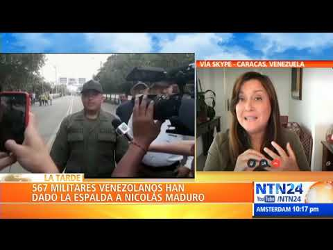 """""""Estamos Frente A Una Oleada Que No Cesa"""": Rocío San Miguel Sobre Militares Que Rechazan A Maduro"""