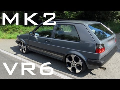 VW Golf MK2 VR6 - Sound Acceleration Onboard