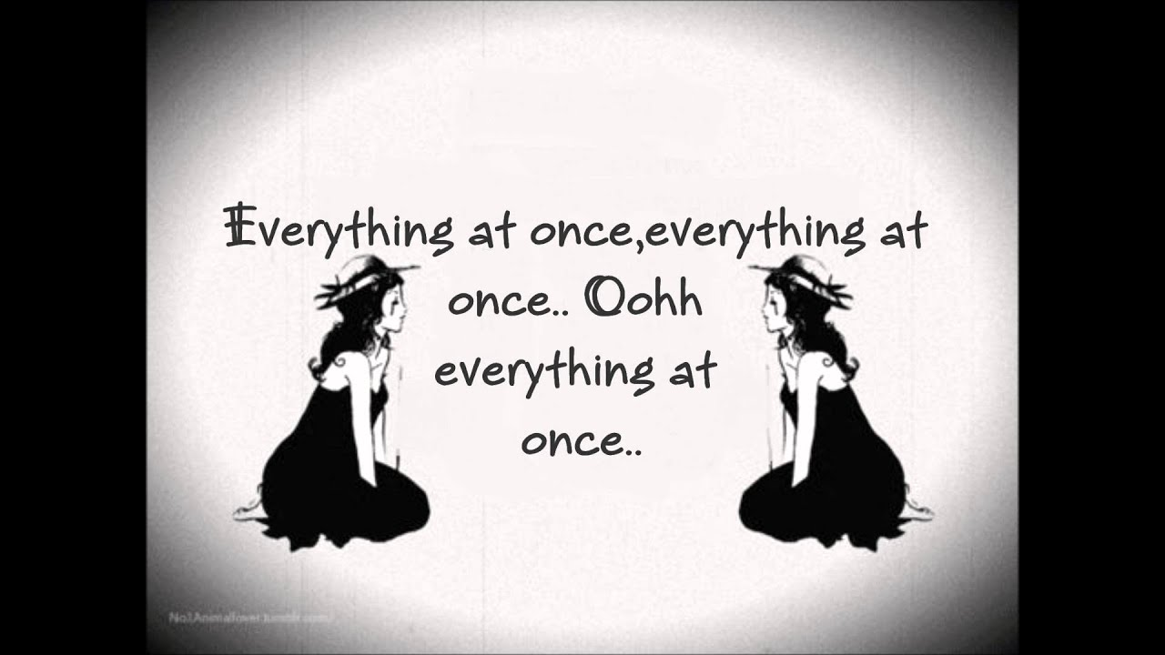 Everything At Once by Lenka on Vimeo