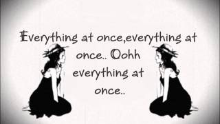Everything at Once - Lenka [Lyrics]