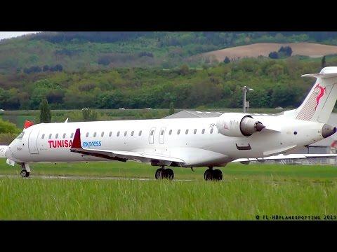 \300 Subscribers/ !! Thanks! - Tunisair Express CRJ-900 TS-ISA at Clermont [CFE/LFLC]