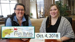 Fish Bytes- Oct. 4, 2018 Spearfish Chamber Video Newsletter