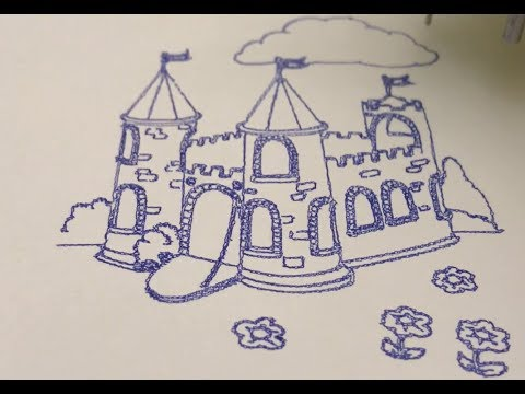 """Drawing of """"The Castle"""""""