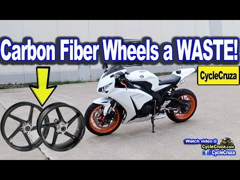 Why Carbon Fiber Wheels are a WASTE of Money For Motorcycle | MotoVlog