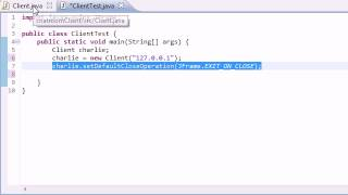 Intermediate Java Tutorial - 58 - Finishing the Coding for the Instant Message Program