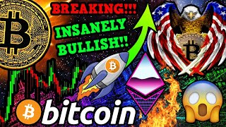 BREAKING BITCOIN NEWS!!! USA HUGE BTC ANNOUNCEMENT!!! ETH READY to EXPLODE!!