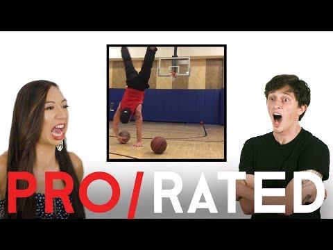 Athletes React: Trick Shots, Skimboarding & More (ft. Bonus Footage!) | Pro/Rated