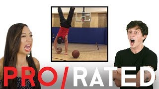 Athletes React: Trick Shots, Skimboarding & More (ft. Bonus Footage!) | Pro/Rated