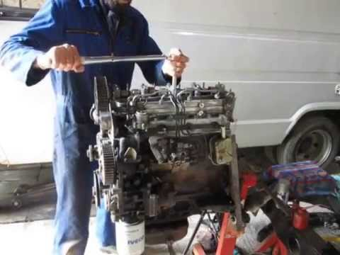 Iveco 35-8 engine install part 3 of 3
