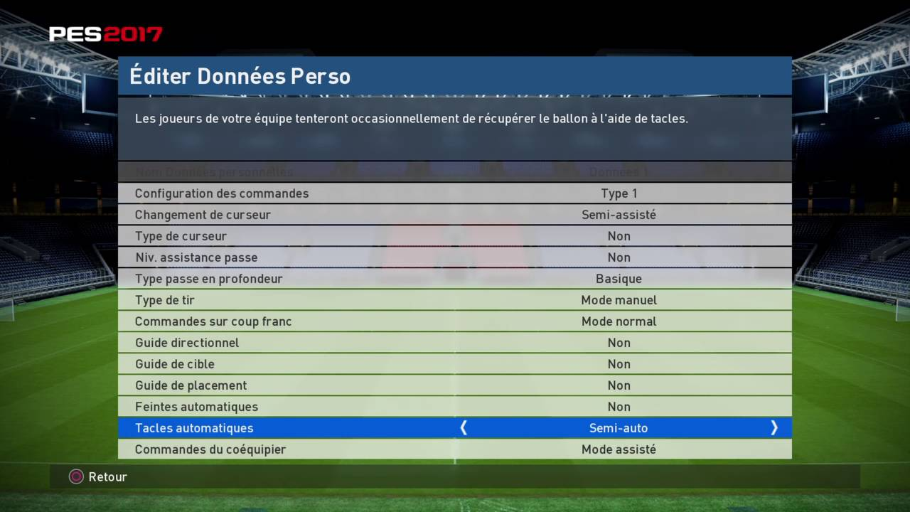 PES2017 - HOW TO Play in Full Manual Settings