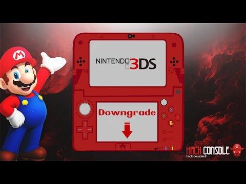 Downgrade Nintendo 3DS 11.1.0-34 vers 9.2