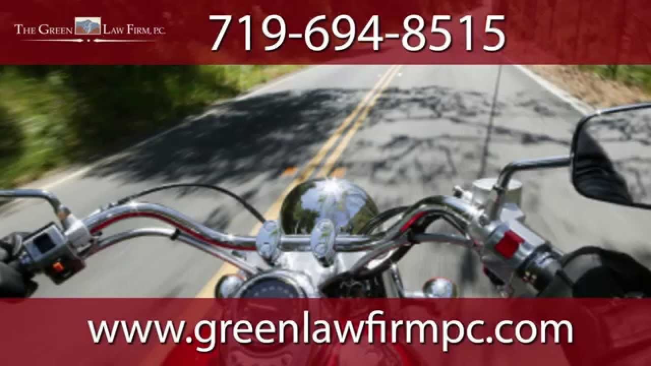 Motorcycle Accident | Colorado Springs Attorney Greg Green
