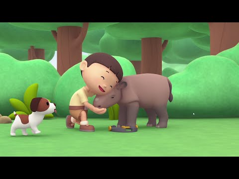 Sumatran Rhino - Leo The Wildlife Ranger Minisode #107
