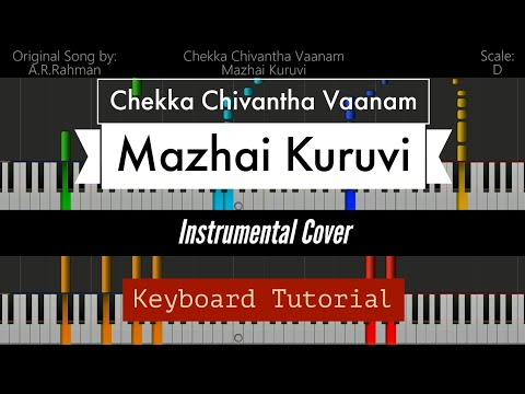 Chekka Chivantha Vaanam - Mazhai Kuruvi   Instrumental Cover   Keyboard Tutorial