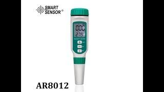 Salinometer Smart Sensor AR8012 Ukur Kadar Garam Asin Salinity Tester AR-8012 Salinitas Salt Meter