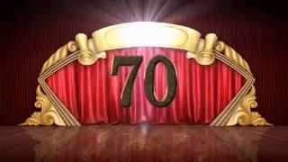 Юбилей 70 лет(музыкальная открытка)