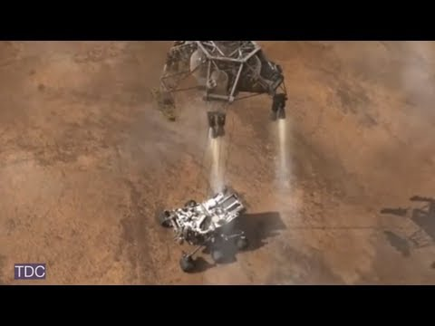 Curiosity Has Landed: Mars Rover Touches Down On Red Planet