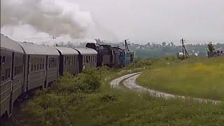 Parowozem przez Kolej Transwersalną - 600 FILM