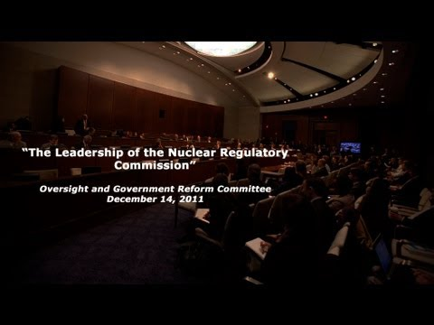 """The Leadership of the Nuclear Regulatory Commission"""