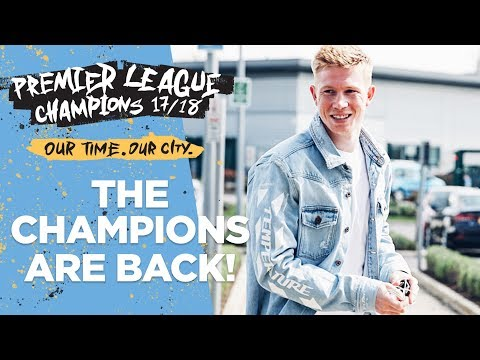 PLAYERS BACK IN TRAINING! | First session as Premier League Champions!