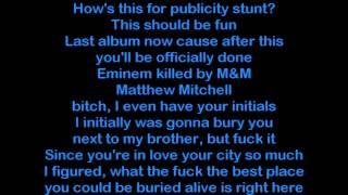 Eminem - Bad Guy ( Lyrics ) #MMLP2