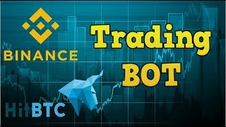 Trading bot. Binance, HitBTC cryptocurrency bot. LunoTrade free beta test.