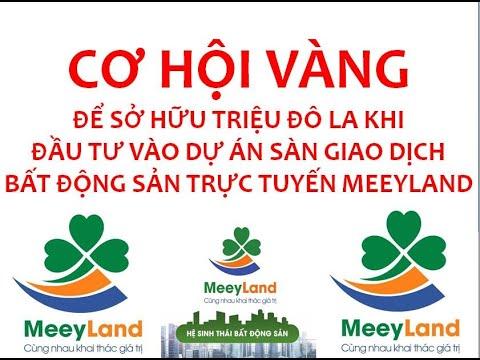 #Meeyland: HƯỚNG DẪN CÁCH TẠO TÀI KHOẢN ĐỂ ĐẦU TƯ TẠI MEEYLAND