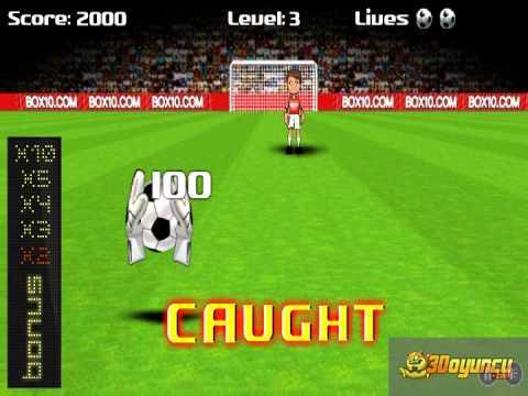 Kaleci - 3D Oyuncu - 3D Futbol Oyunları