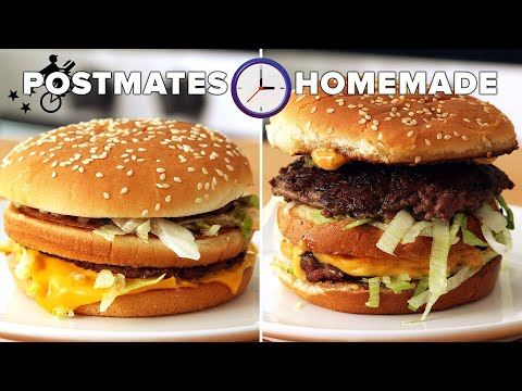 Can I Make A Big Mac Faster Than My Postmate Delivers It? • Tasty