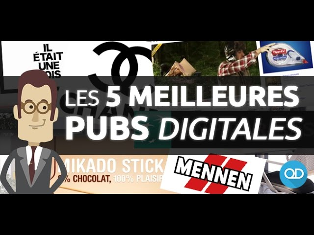 5 PUBS DIGITALES INCROYABLES [Surfing telling & Story telling] !