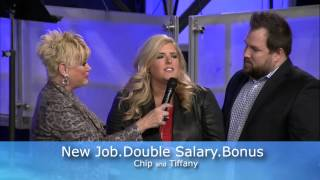 First Fruits Testimony - Chip and Tiffany - New Job, Double Salary and a Bonus