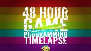 48 Hour Game Programming Timelapse: Hallucinations/Aftermath (C#/Unity3D)