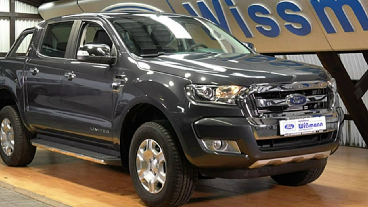 ford ranger limited doppelkabine mj2pge01471 royal grau. Black Bedroom Furniture Sets. Home Design Ideas