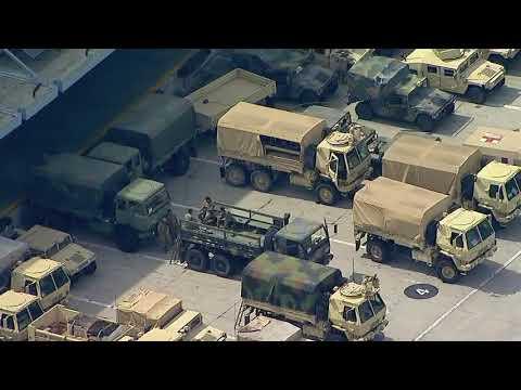 National Guard arrives