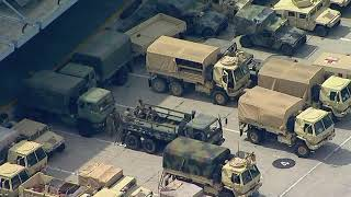 National Guard arrives in Los Angeles following violent protests