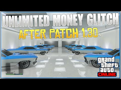 "GTA 5 Online: ""SOLO Unlimited Money Glitch!"" After Patch 1.30 (Car Duplication Money Glitch!)"