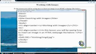 Working with Images in HTML (Lesson-6)